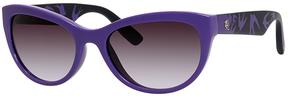 Safilo USA McQ0020S Cat Eye Sunglasses