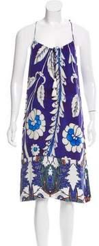 Figue Silk Printed Dress