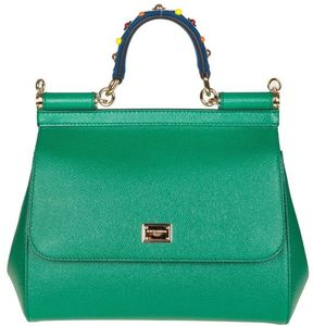 Dolce & Gabbana Hand Handle Dauphine Hands Replaced Green Color - GREEN - STYLE