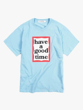 Have A Good Time Frame S/S Tee - Light Blue