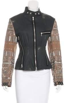 Dries Van Noten Embellished Distressed Jacket