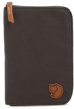 Fjallraven Canvas Passport Wallet - Grey
