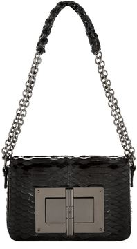 Tom Ford Large Natalia Python Chain Shoulder Bag