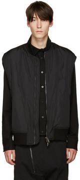 D.gnak By Kang.d Black Zip Vest