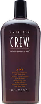 American Crew 3-In-1 Shampoo, Conditioner and Body Wash