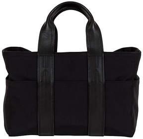 One Kings Lane Vintage Small Hermès Leather & Nylon Handbag
