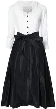Carolina Herrera monochrome shirt dress