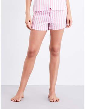 Bodas St Moritz cotton pyjama shorts