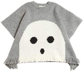 Stella McCartney Ghost Doubled Knit Wool Cape