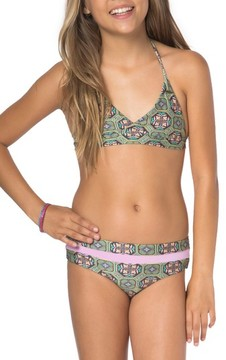 O'Neill Girl's Evelyn Two-Piece Swimsuit