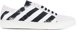 Off-White brushed diagonals sneakers