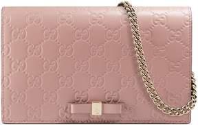 Gucci Signature mini bag - PINK GUCCI SIGNATURE - STYLE