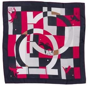 Salvatore Ferragamo Printed Square Scarf