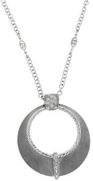Charriol Philippe 18K White Gold & Diamond Necklace