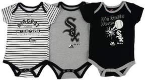 Majestic Chicago White Sox Homerun 3-Piece Set, Baby Boys (0-9 months)