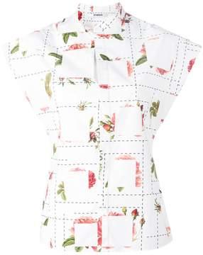 Chalayan Offset blouse