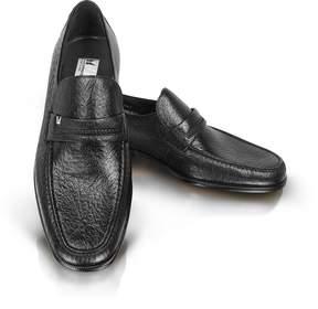 Moreschi Amburgo - Buckle Black Loafer Shoes