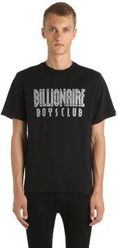 Billionaire Boys Club Reflective Logo Cotton Jersey T-Shirt