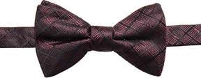 Ryan Seacrest Distinction Men's Salina Grid Pre-Tied Silk Bow Tie, Created for Macy's