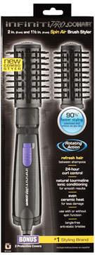 Conair Infiniti Pro Spin Dual Head Brush BC181 Black