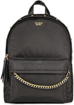 Victoria's Secret Victorias Secret Nylon Python Stud City Backpack