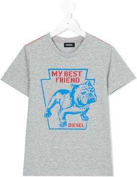 Diesel Bulldog t-shirt