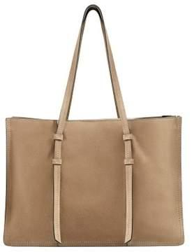 MANGO Suede shopper bag