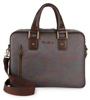 Robert Graham Loon Lake Paisley Briefcase
