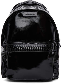 Stella McCartney Black Patent Backpack