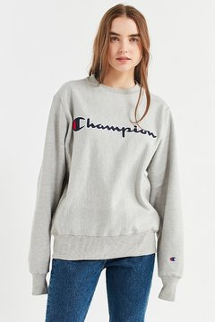 Champion Reverse Weave Center Script Sweatshirt