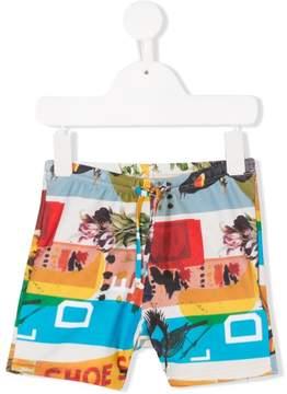 Trunks Wolf & Rita printed swim shorts