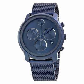 Movado Bold Ink Blue Dial Chronograph Men's Watch 3600403