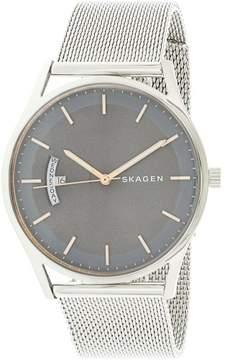 Skagen Men's Holst SKW6396 Silver Stainless-Steel Japanese Quartz Fashion Watch