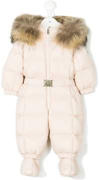 Moncler padded snowsuit