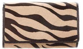 Carlos Falchi Fatto a Mano by Python-Trimmed Convertible Clutch