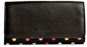 Vera Bradley Audrey Havana Dots Wallet - BLACK - STYLE