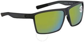 Costa del Mar Rincon Green Mirror Rectangular Sunglasses RIN 156 OGMGLP