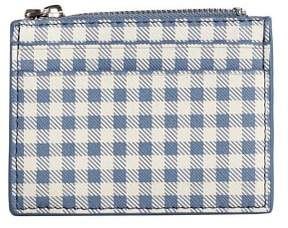 MANGO Gingham check purse