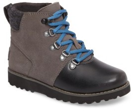 UGG Boy's Hilmar Waterproof Winter Hiking Boot