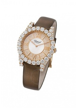 Chopard Heure du Diamant Diamond Set Guilloche Watch