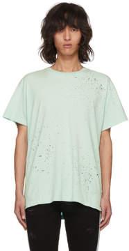 Amiri Blue Shotgun T-Shirt