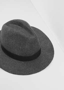 Mango Outlet Wool fedora hat