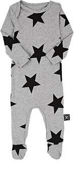 Nununu Star-Print Cotton Footed Coverall