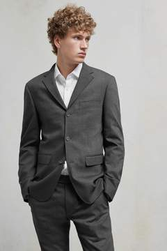 French Connection Stretch Flannel Suit Jacket