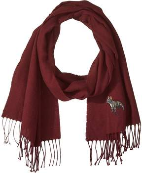Polo Ralph Lauren Conversational Embroidery Scarf Scarves