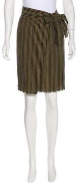 Masscob Wool-Blend Skirt