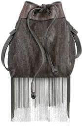 Brunello Cucinelli Monili Fringe Bucket Bag