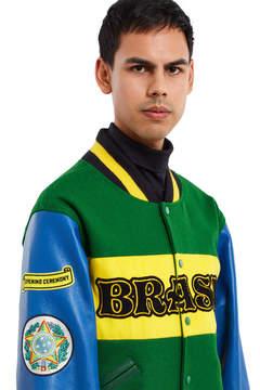 Opening Ceremony Brazil Varsity Jacket