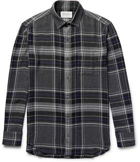 Public School Checked Flannel Shirt