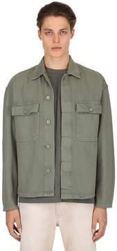 Yeezy Oversize Workwear Washed Canvas Shirt